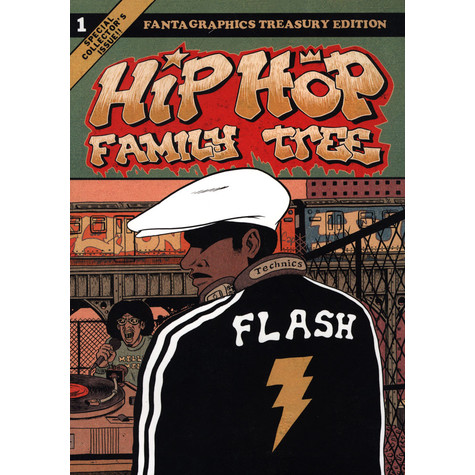 Ed Piskor - Hip Hop Family Tree Volume 1 American Edition