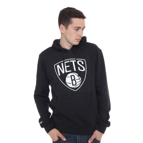 Mitchell & Ness - Brooklyn Nets NBA Team Logo Hoodie