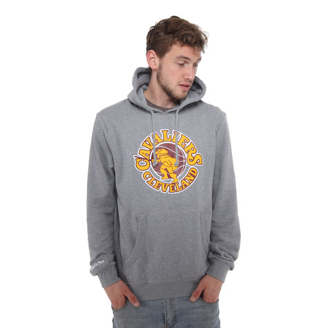 Mitchell & Ness - Cleveland Cavaliers NBA Team Logo Hoodie