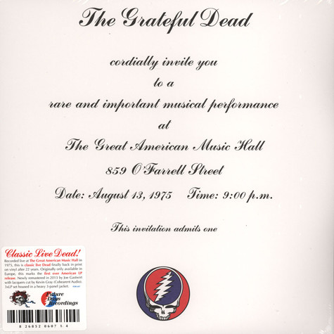 Grateful Dead - One From The Vault