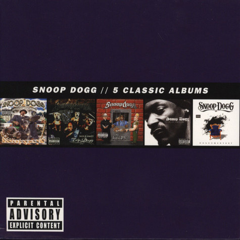Snoop Dogg - 5 Classic Albums