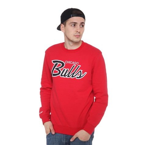 Mitchell & Ness - Chicago Bulls NBA Script Crewneck Sweater