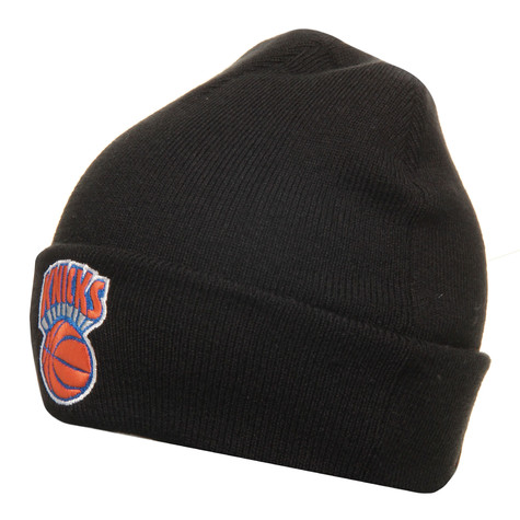 Mitchell & Ness - New York Knicks NBA Cuffed Knit Beanie