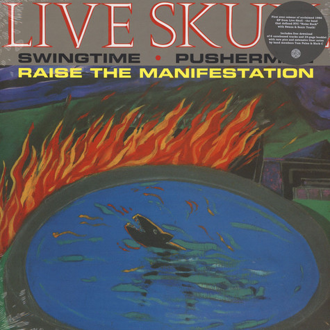 Live Skull - Pusherman EP