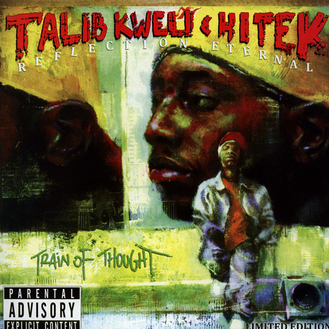 Reflection Eternal (Talib Kweli & DJ Hi-Tek) - Train Of Thought Clear Vinyl Edition