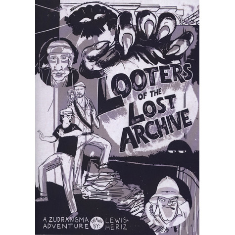 Lewis Heriz - Looters Of The Lost Archive