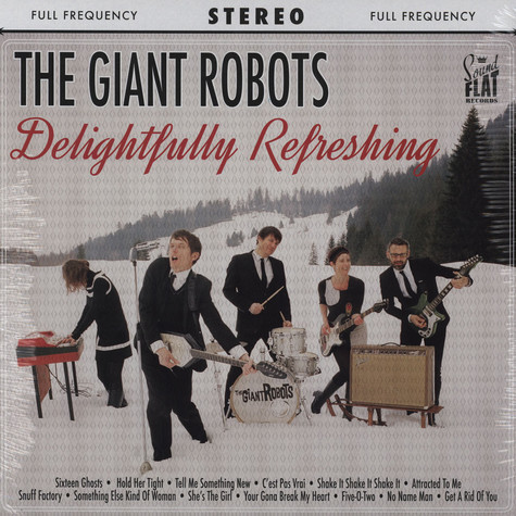Giant Robots, The - Delightfully Refreshing