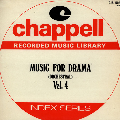 V.A. - Music For Drama (Orchestral) Vol. 4