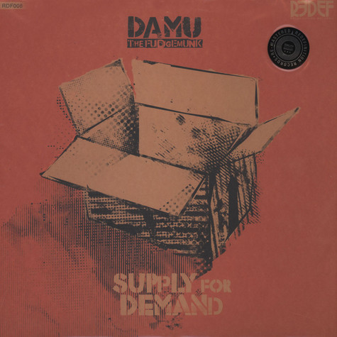Damu The Fudgemunk - Supply For Demand Green Vinyl Deluxe Edition