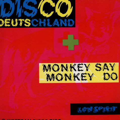 WestBam - Disco Deutschland / Monkey Say Monkey Do