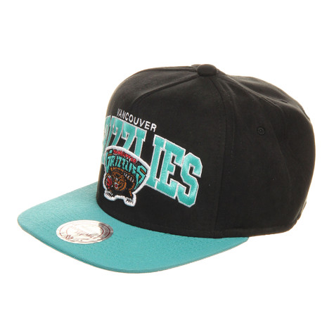 Mitchell & Ness - Vancouver Grizzlies NBA Arch Nubuk Snapback Cap