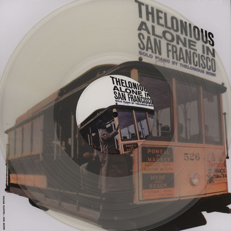 Thelonious Monk - Alone In San Francisco Clear Vinyl Edition