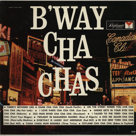 Freddie Sateriale And His Orchestra - B'way Cha Chas