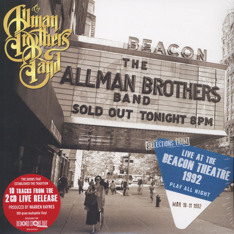 Allman Brothers - Selections From ''Play All Night: Live At The Beacon Theatre 1992''