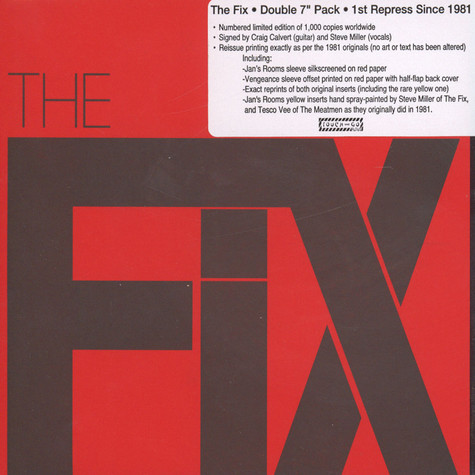Fix, The - Vengeance / In This Town + Jan's Rooms
