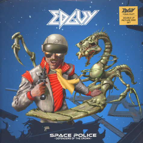 Edguy - Space Police - Defenders Of The Crown Picture Disc Edition
