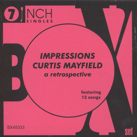Impressions, The & Curtis Mayfield - A Retrospective