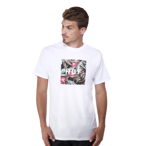 HUF - Box Logo Fill Waikiki T-Shirt