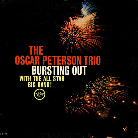 Oscar Peterson Trio, The - Bursting Out With The All-Star Big Band