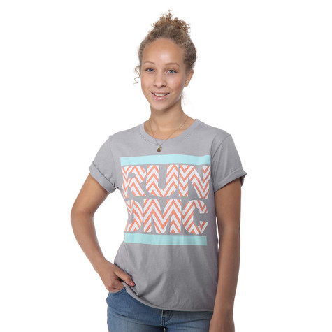 Run DMC - Chevron Stripes Women T-Shirt