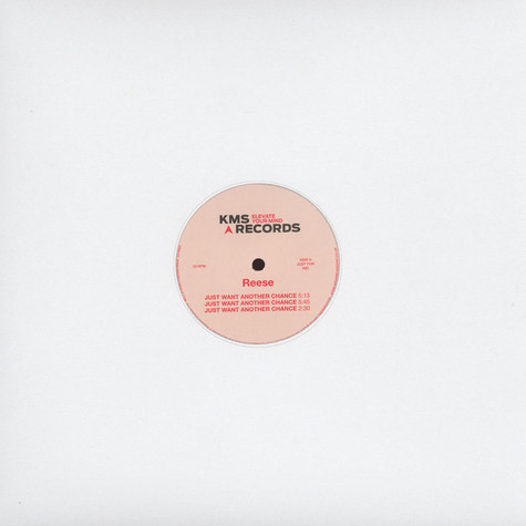 Reese (Kevin Saunderson) - Just Want Another Chance