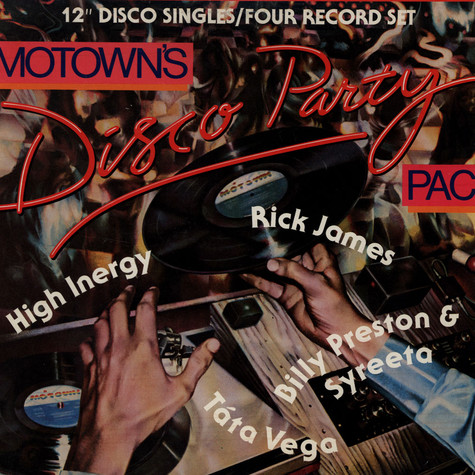 V.A. - Motown's Disco Party Pac