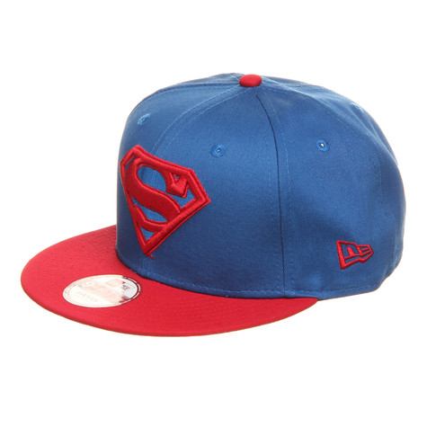 New Era x DC Comics - Superman Character Basic 9fifty Snapback Cap