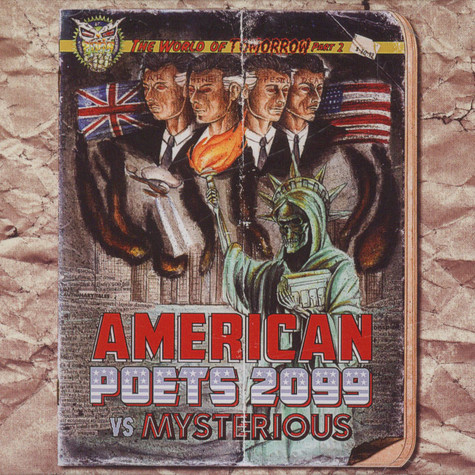 American Poets 2099 Vs. Mysterious - The World Of Tomorrow, Pt. 2
