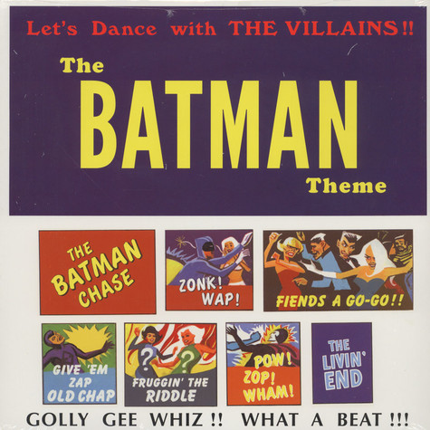 Batman Theme, The - Let's Dance With The Villains