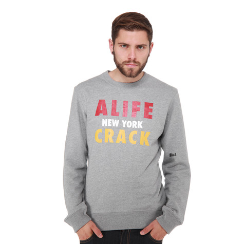 Alife - Crack Crewneck Sweater