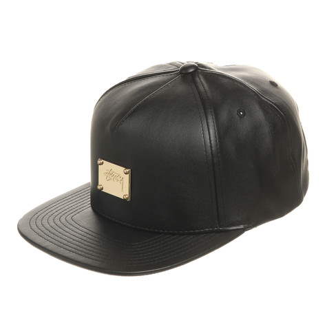 Stüssy - Lux Leather Snapback Cap