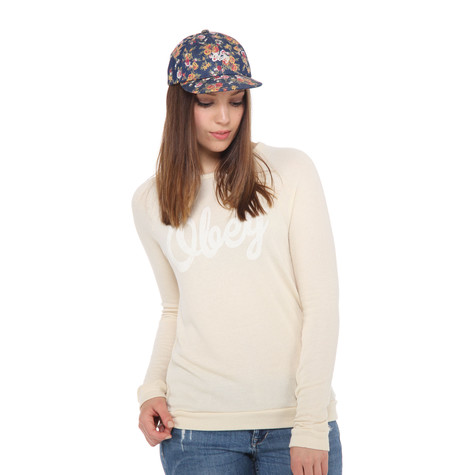 Obey - Dewallen Script Women Sweater