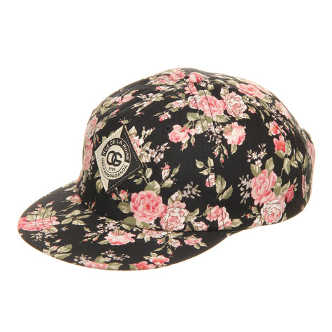 Obey - Floral Throwback Women Strapback Cap