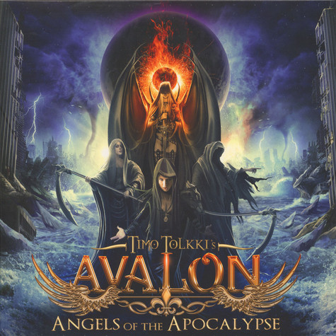 Timo Tolkki's Avalon - Angels Of The ApocalypseBlue Vinyl Edition
