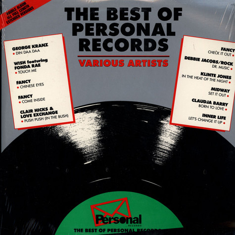 V.A. - The Best Of Personal Records