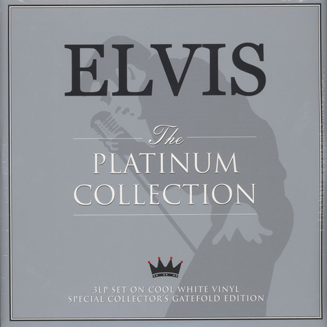 Elvis Presley - The Platinum Collection On Cool White Vinyl