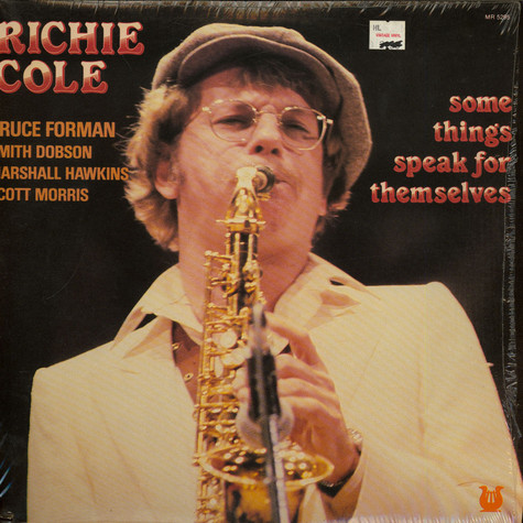 Richie Cole - Some Things Speak For Themselves