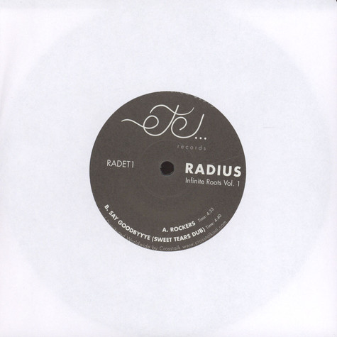 Radius - Infinite Roots Volume 1