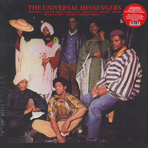 Universal Messengers, The - An Experience In The Blackness Of Sound