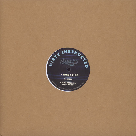 Dirty Instructed - Chunky EP
