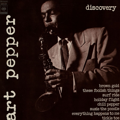Art Pepper - Discovery