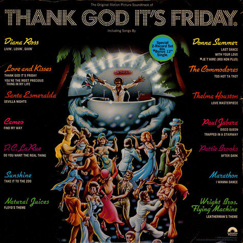V.A. - OST Thank God It's Friday