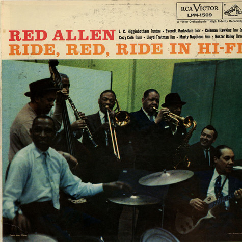 "Henry ""Red"" Allen's All Stars - Ride, Red, Ride In Hi-Fi"