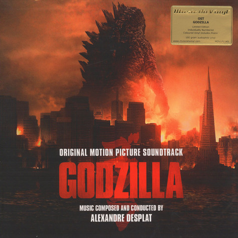 V.A. - OST Godzilla Colour Vinyl Edition