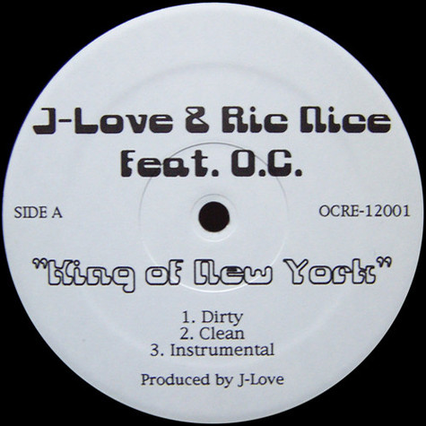 J-Love & Ric Nice - King Of New York feat. O.C.