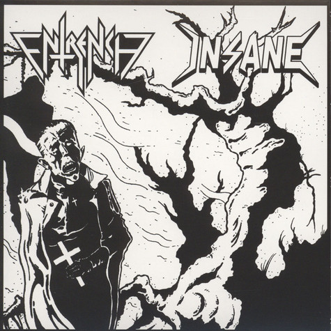 Entrench / Insane - Split Black Vinyl Edition