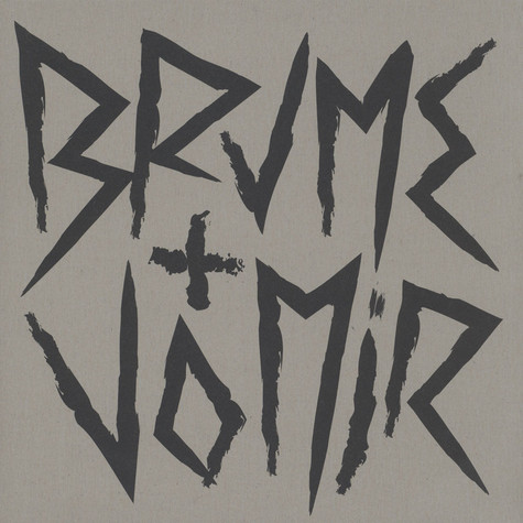 Brume & Vomir - Unstable Black Vinyl Edition