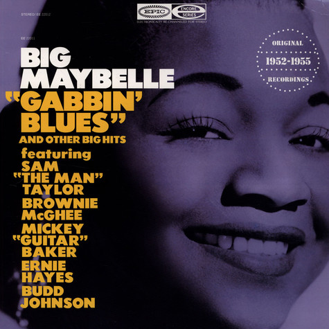 """Big Maybelle - """"Gabbin' Blues"""" And Other Big Hits"""