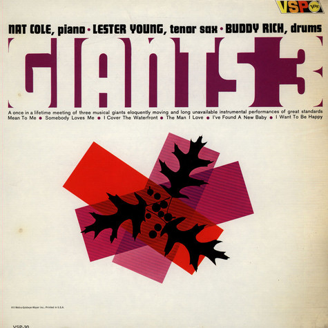 Lester Young - Nat King Cole - Buddy Rich - Giants 3