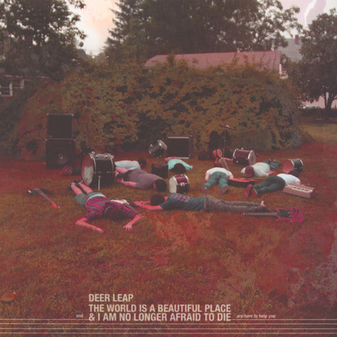 Deer Leap / The World Is A Beautiful Place - Are Here To Help You Split LP